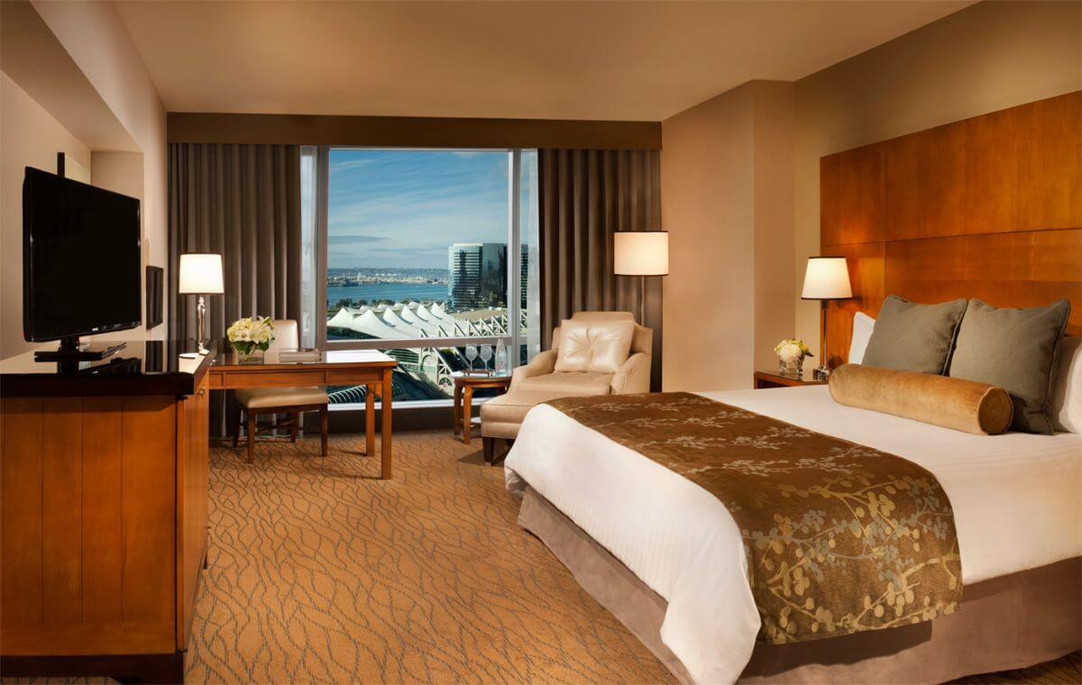 The Omni San Diego hotel.
