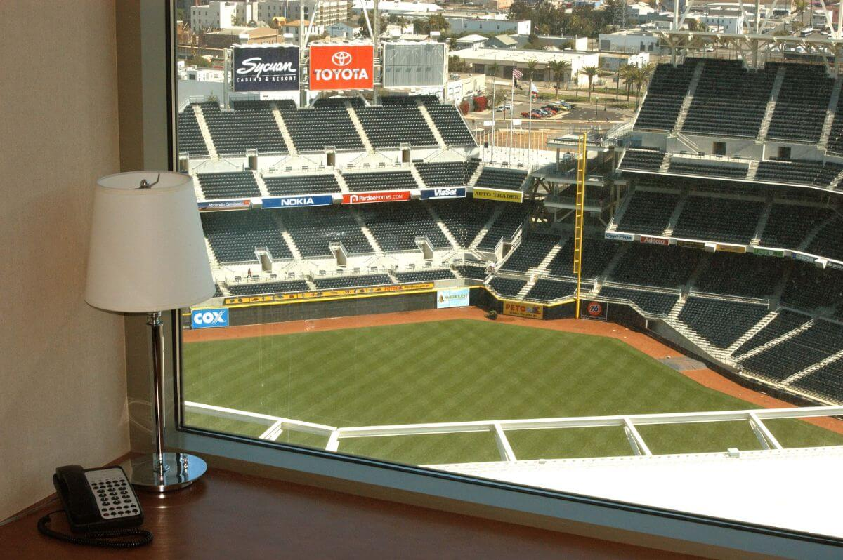 Sports addicts will love the Omni San Diego hotel.