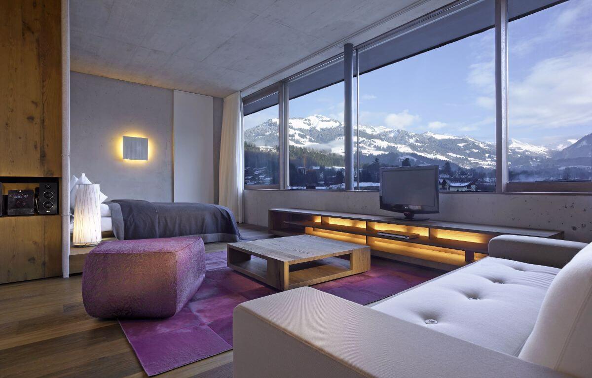 A room at the Schwarzer Adler.