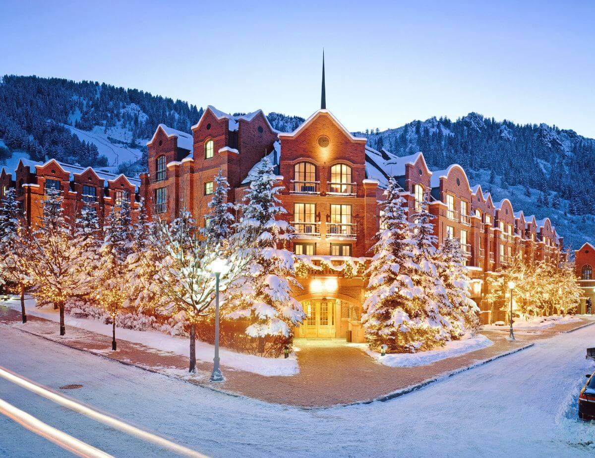 The St. Regis Aspen Resort in Aspen, Colorado, USA.