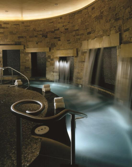 The luxury spa at the St. Regis Aspen Resort in Colorado, USA.