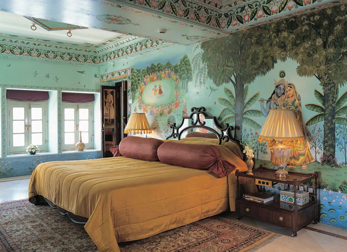 Bond fans need to visit the Taj Lake Palace.