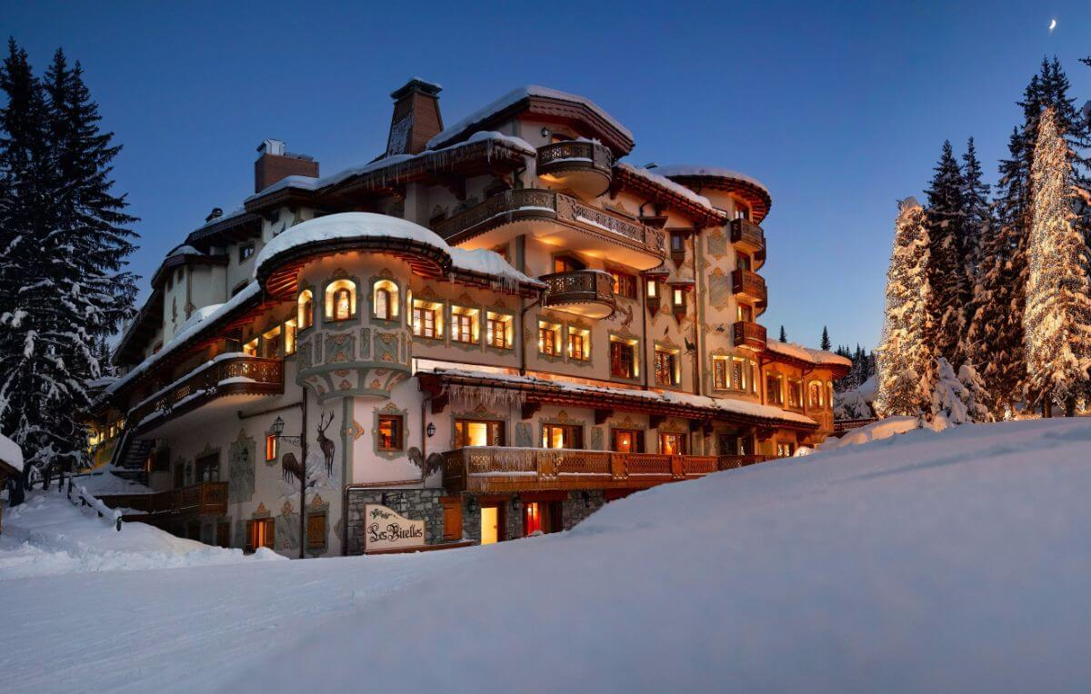 Les Airelles in Courchevel, France comes with a ski room, ski technician and ski valet.