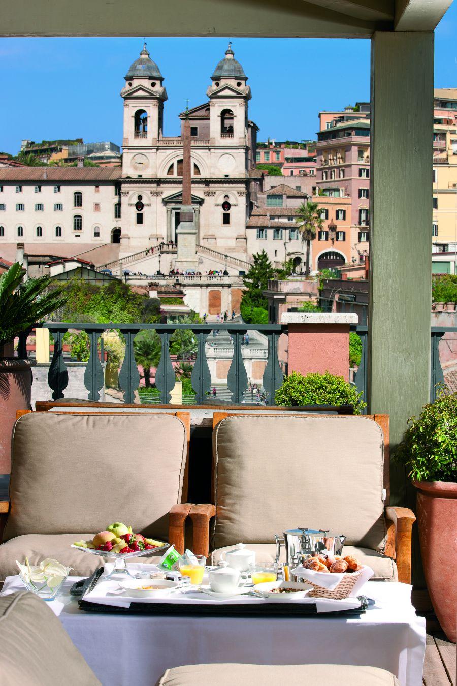 terrace, portrait roma