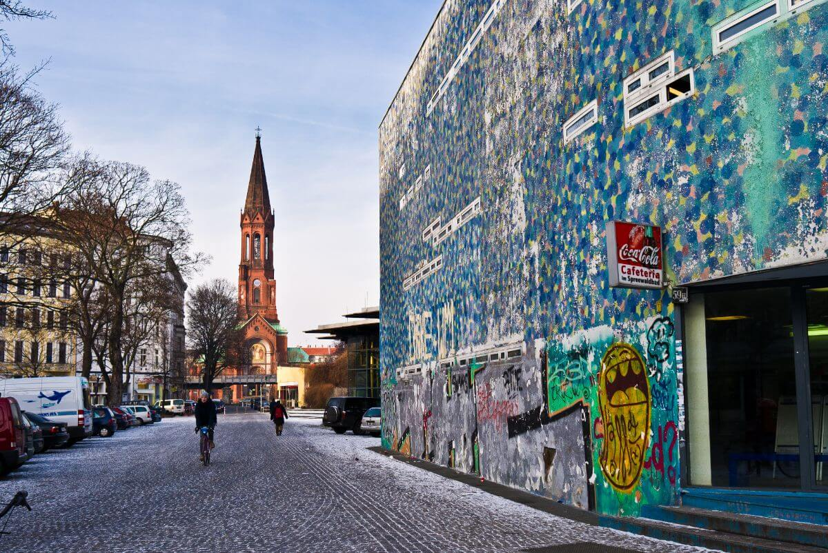 The artistic capital of Germany, Berlin