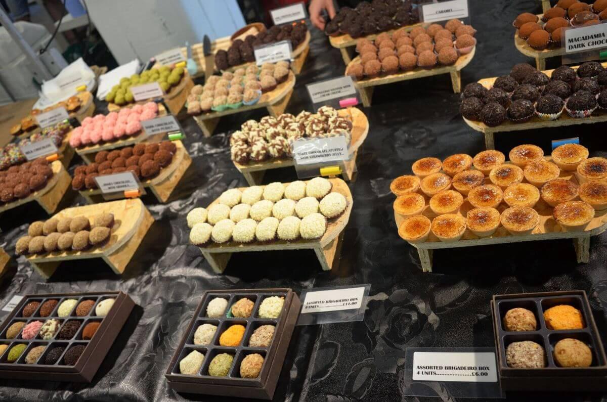 Brick Lane food market desserts