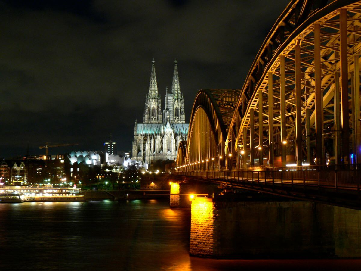 Colonge Cathedral on the Rhine River, Germany