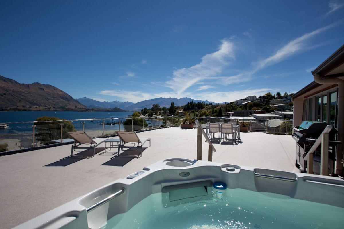Lakeside Serviced Apartments - Top Hotel NZ - View