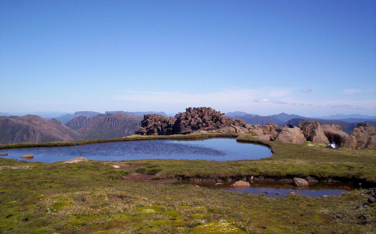 Mt. Ossa on the Overland Track, Tasmania