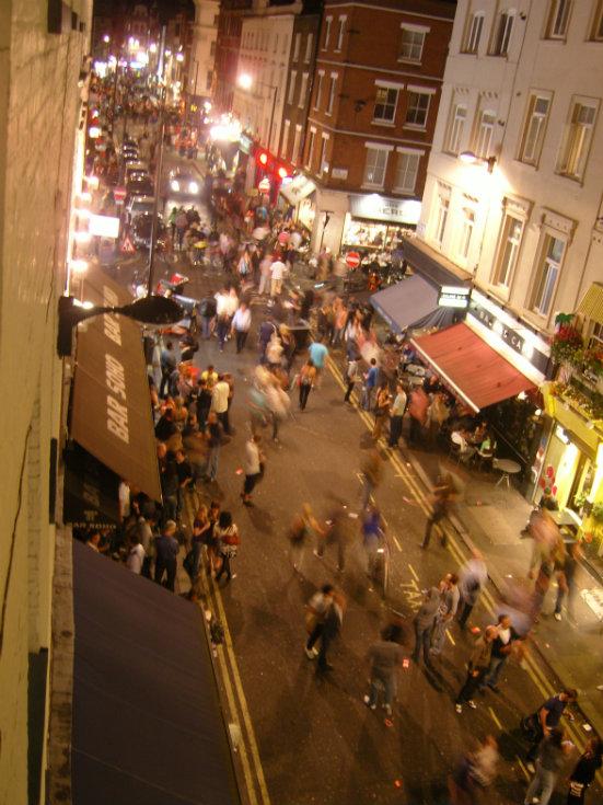 Oldd compton street nightlife