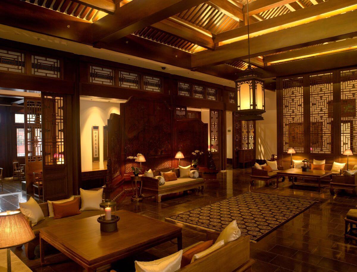 Aman summer palace lobby