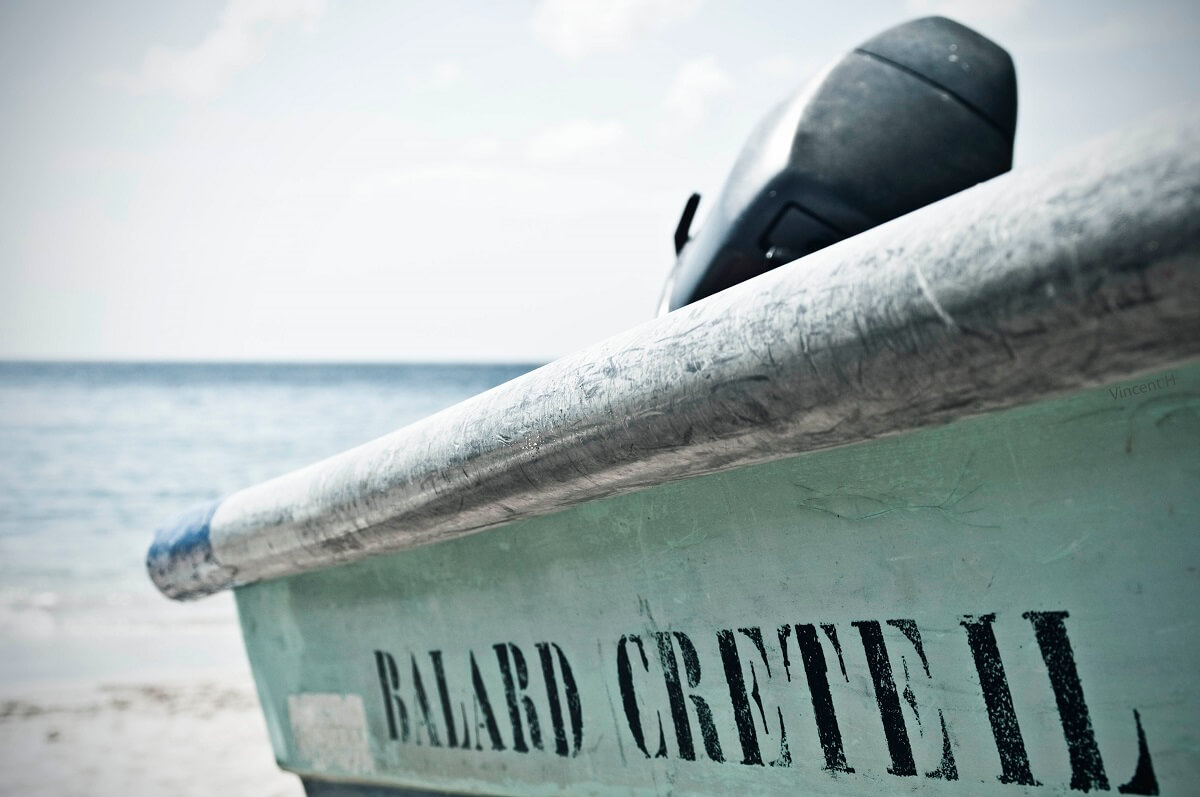 Bateau de pêche en Martinique