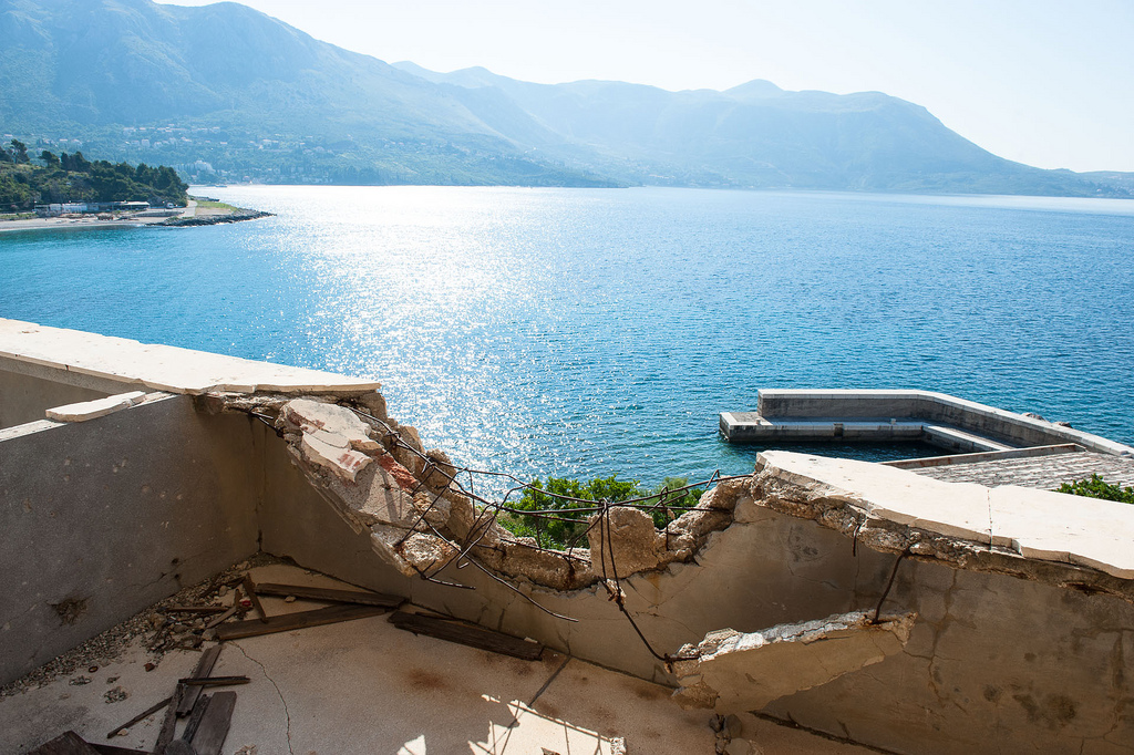 Hôtel abandonné - Baie de Kupari - Croatie