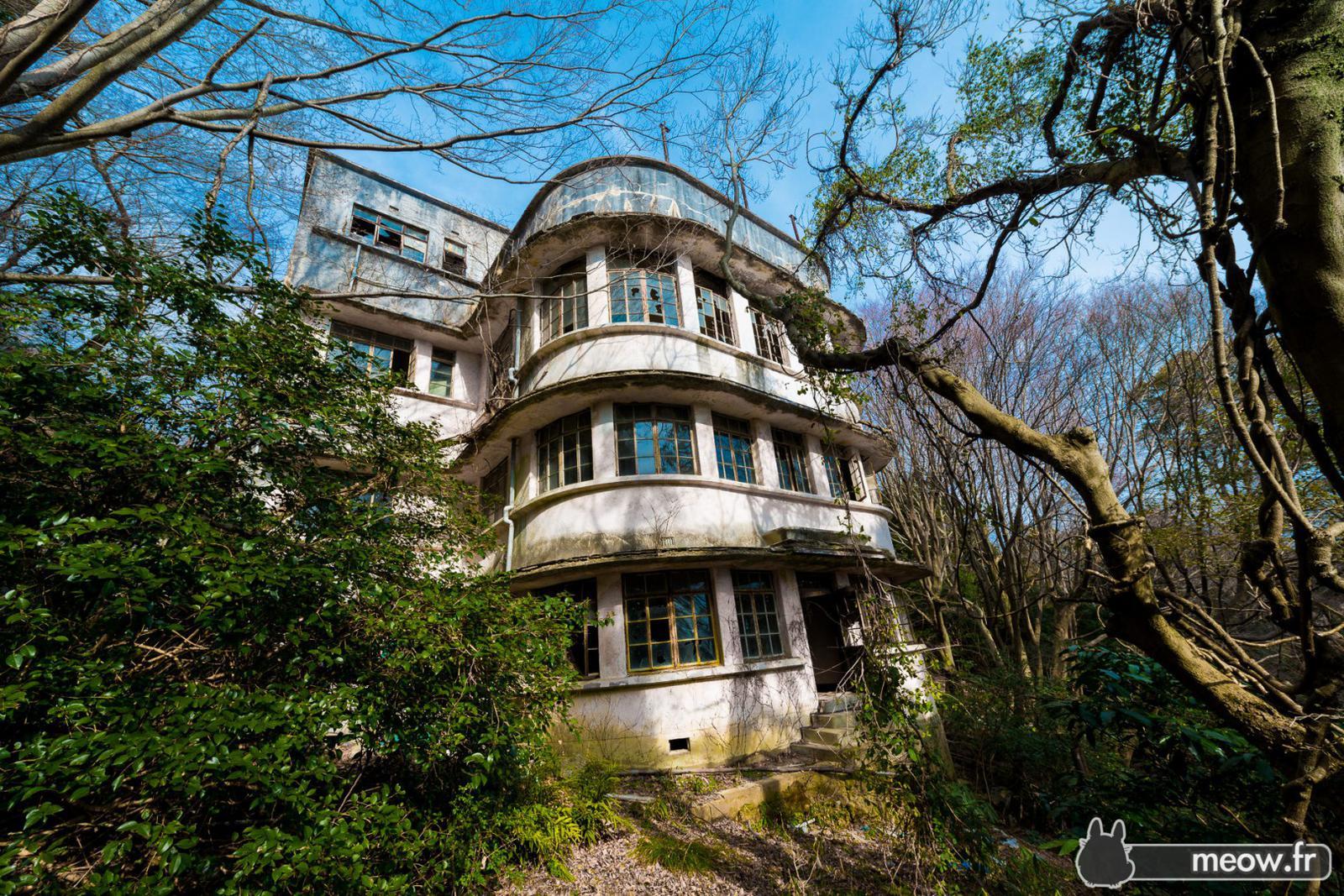 Maya Hotel - hôtel abandonné - Kobe