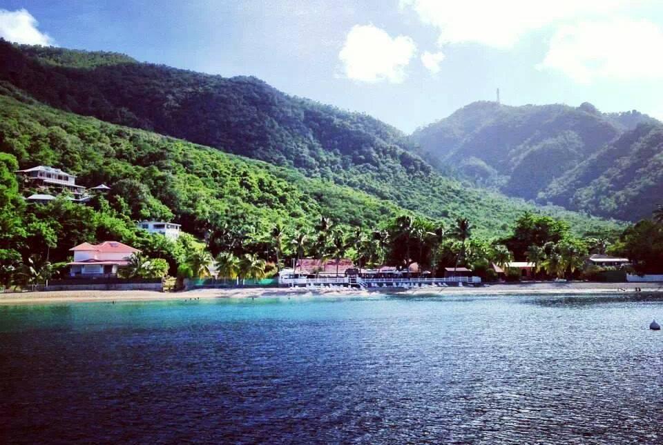 Plage de Grande Anse d'Arlet vue - Martinique