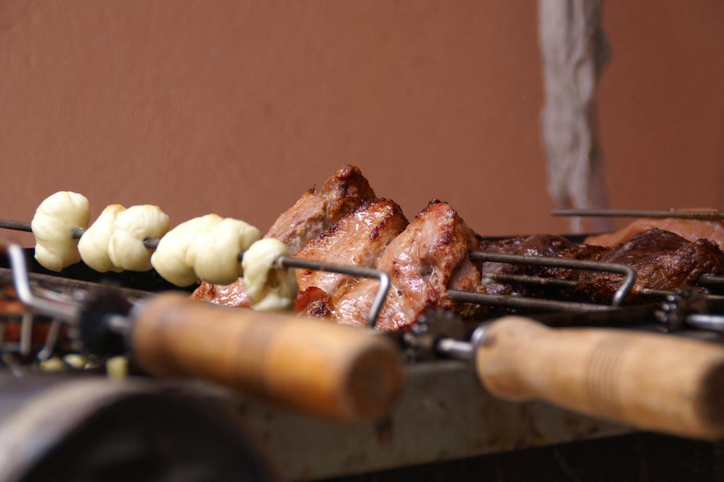 Churrasco sur la broche, grillades de viande brésiliennes