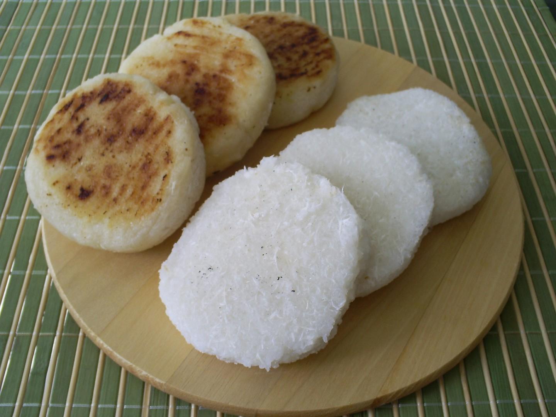 Crêpes brésiliennes à base de farine de manioc, les beiju