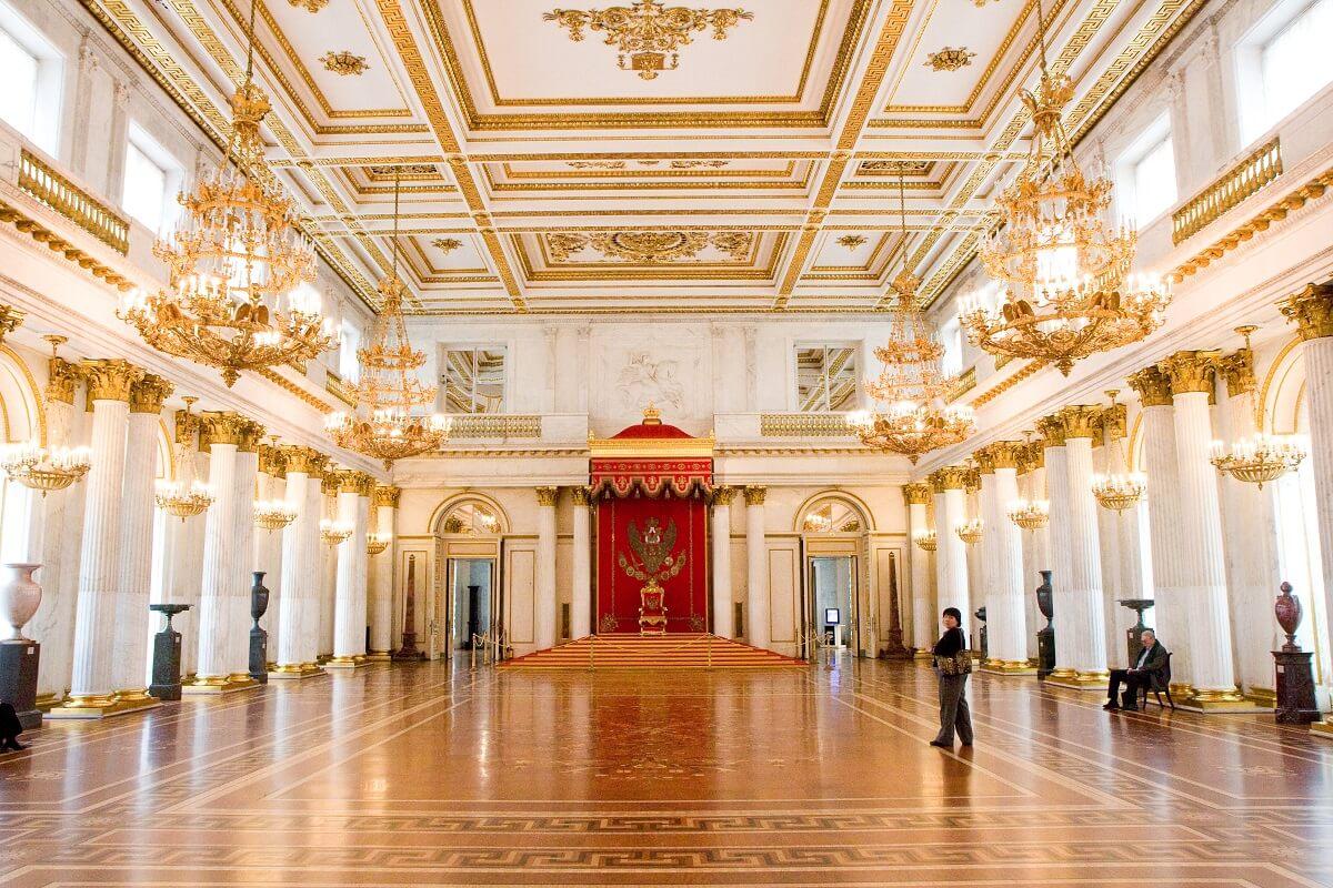 Salle - Musée de l'Ermitage - Saint-Pétersbourg