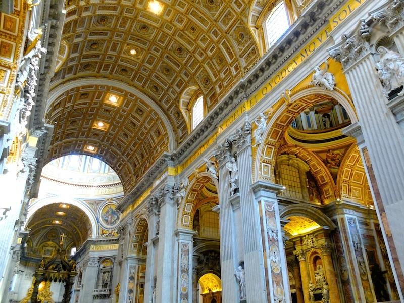 Basilique Saint-Pierre, incontournable lors d'un week-end à Rome