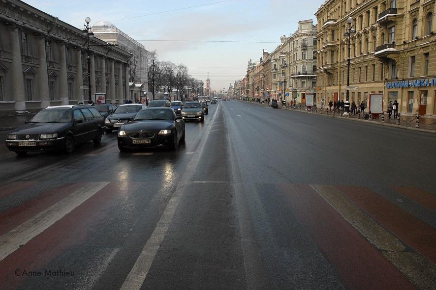 Perspective Nevski - Saint Pétersbourg