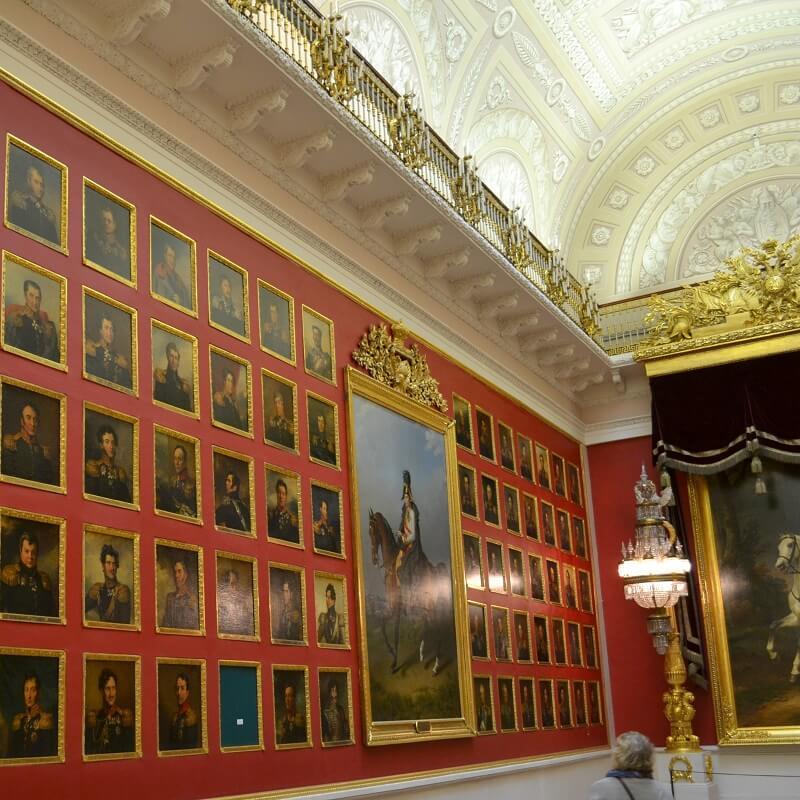 Salle des tableaux - Musée de l'Ermitage - Saint-Pétersbourg