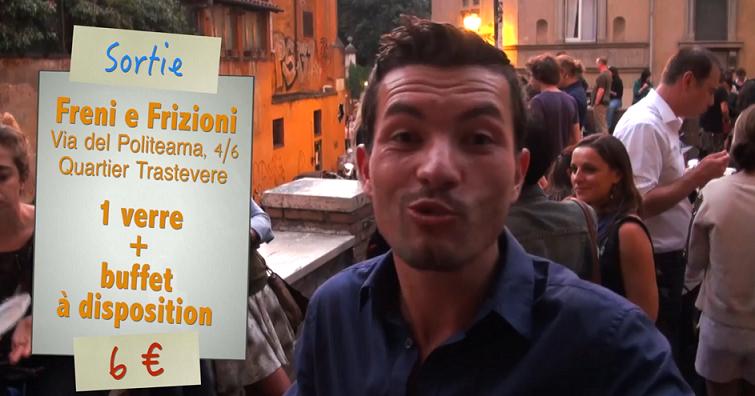 Aperitivo à Freni e Frizioni à Rome