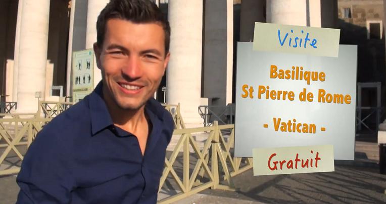 Visite gratuite de la Basilique Saint Pierre de Rome