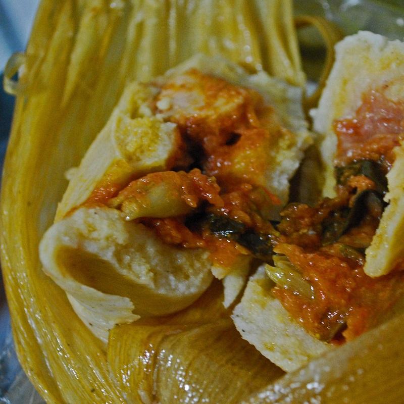 chuchito - feuille de banane