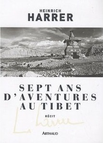 Couverture du roman Sept ans d'aventure au Tibet aux éditions Arthaud