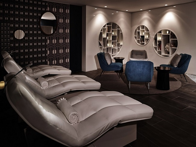 Fauteuils du spa du MOLITOR PARIS BY MGALLERY