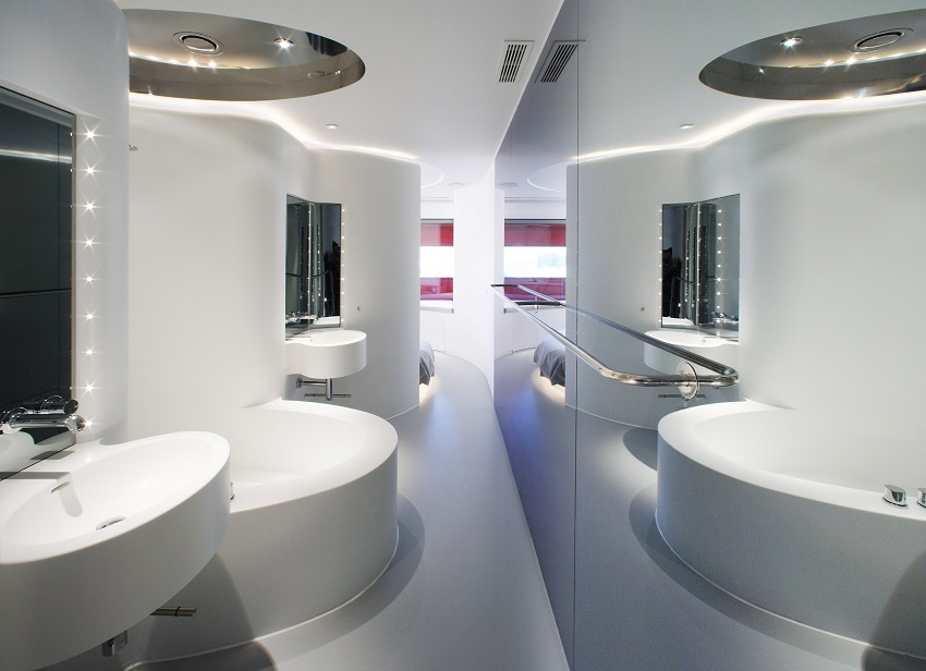 Salle de bain insolite  - Silken Puerta América Madrid