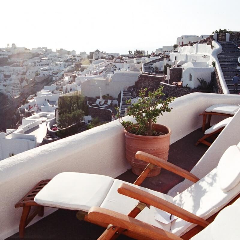 Hôtel en Grèce