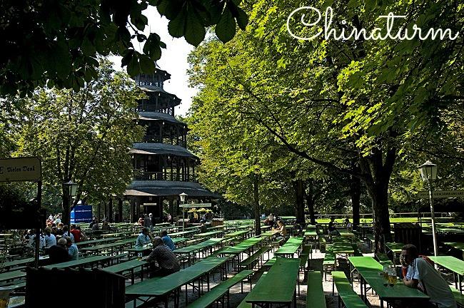 Tour Chinoise du Jardin anglais de Munich
