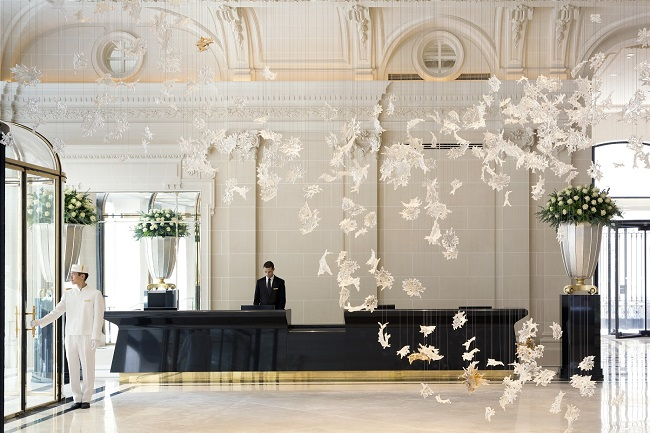 Lobby de The Peninsula Paris