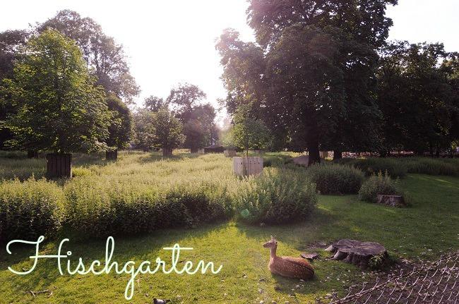 Parc du Hischgarten à Munich