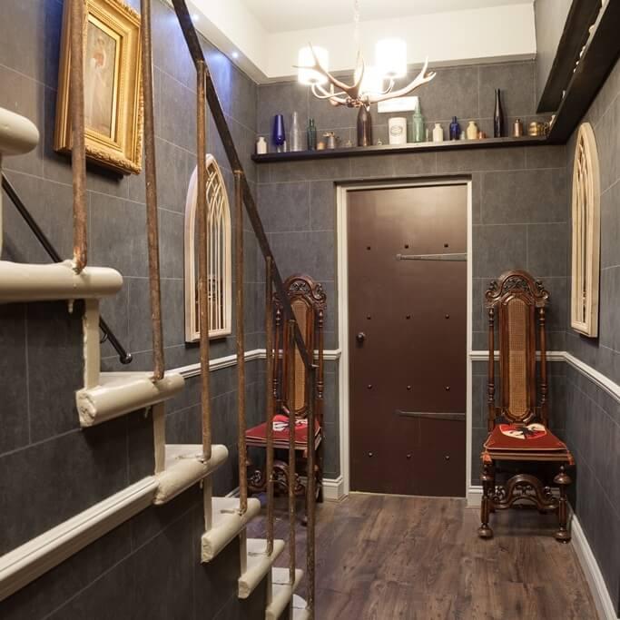 Décoration Harry Potter - Hôtel The Georgian House - Londres