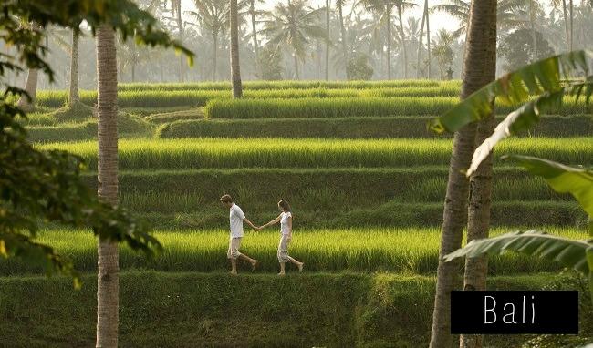 Couple à Bali