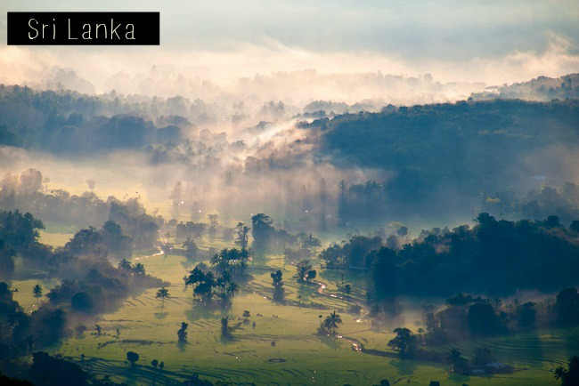 Montagne du Sri Lanka