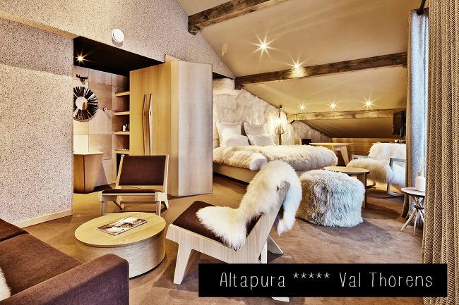 Chambre hôtel Altapura - Val Thorens