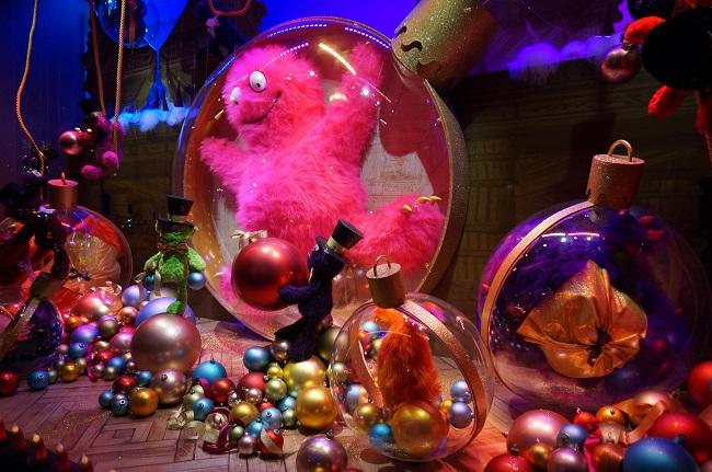 Vitrine des Galeries Lafayette - Noel 2014 - Paris
