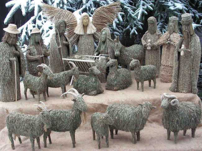 Crèche de Noël de la Chapelle des Pénitents des Baux de Provence