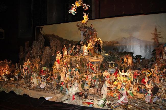 Crèche de Noël de l'église Saint Bruno les Chartreux à Lyon