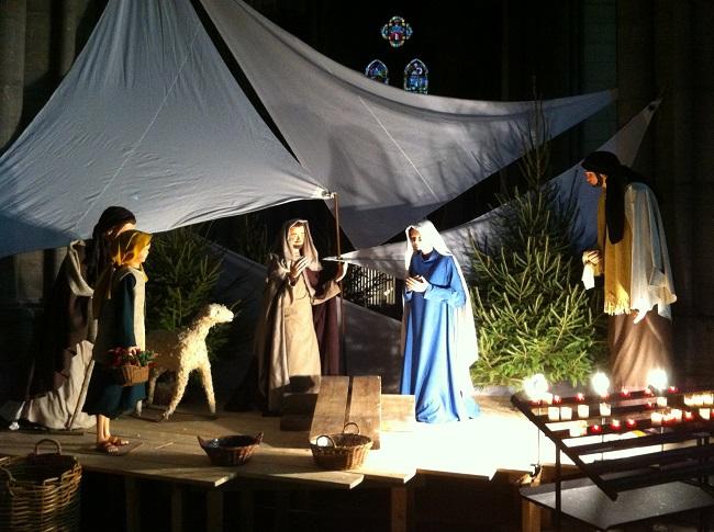 Crèche de Noël de la Cathédrale Notre-Dame de la Treille à Lille