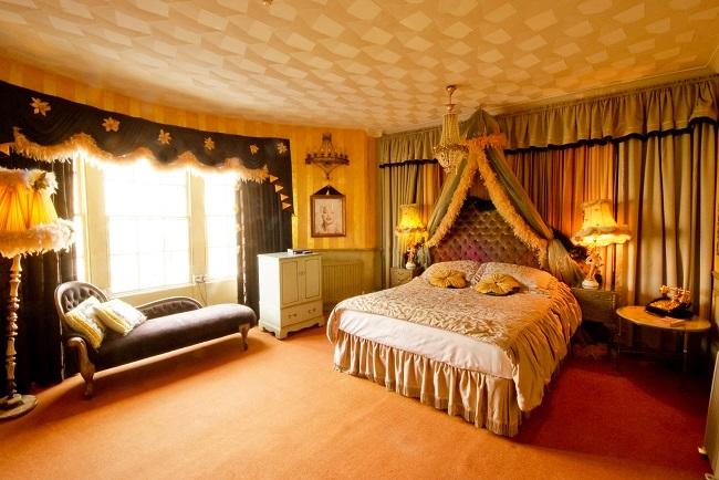 Chambre doré - Hôtel Pelirroco - Brighton