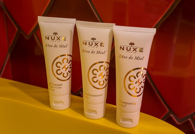 Produits Nuxe - Idol Hôtel Paris