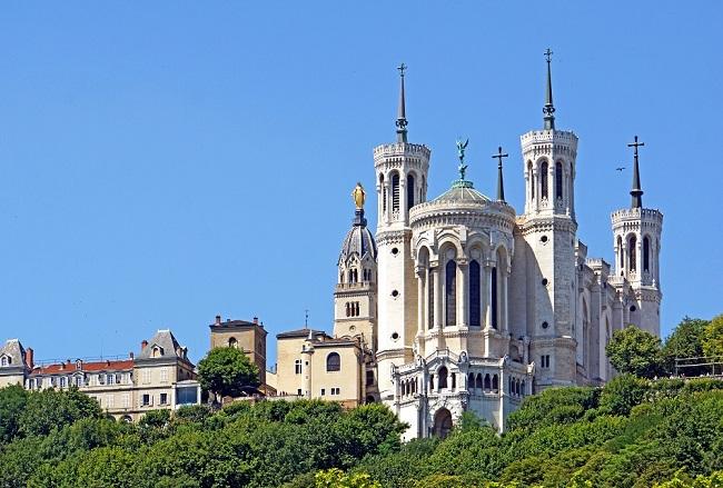 Basilique Notre-Dame de Fourvière - Parcours marathon de Lyon