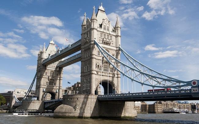 London Bridge - Parcours du marathon de Londres