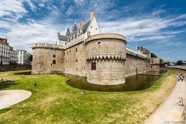 Château des Ducs de Bretagne - Parcours du marathon de Nantes