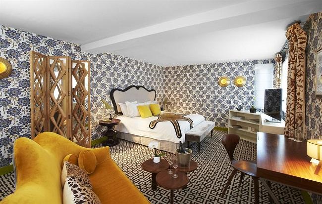 Chambre - Hôtel Thoumieux - Paris
