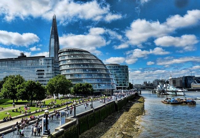 Hôtel de ville de Londres - Parcours du marathon de Londres